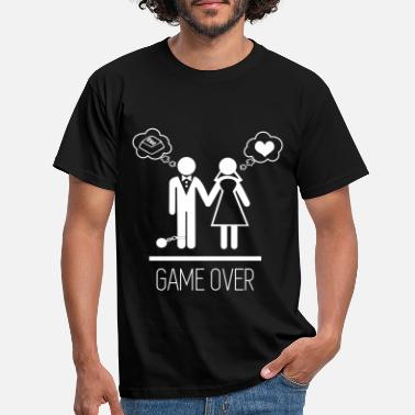 0bee4381 Game over - Stag do - Hen party - Wedding - Men's. Men's T-Shirt