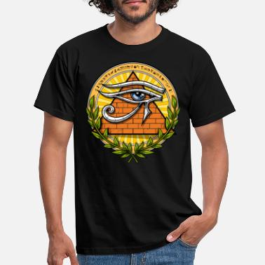 Horus Ancient Egyptian Pyramids Eye Of Horus - T-shirt mænd