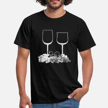 Grapevine Grapevine Wine drinker - T-skjorte for menn