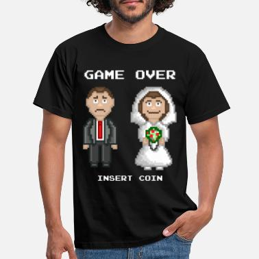 Stag Do Marriage - Game Over - Men's T-Shirt