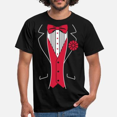 Birthday Tuxedo - Men's T-Shirt
