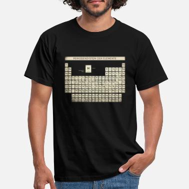 Periodic Periodic Table Shirt Vintage - Men's T-Shirt