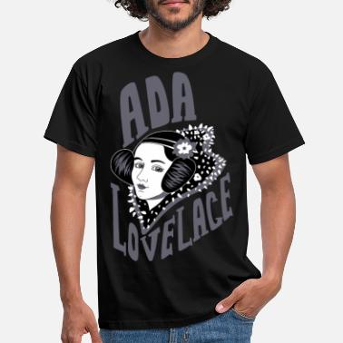 Ada Ada Lovelace Gray - Men's T-Shirt