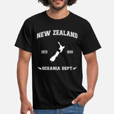 New Zealand map - Men's T-Shirt