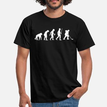 Ice Hockey Ice Hockey Evolution - Männer T-Shirt