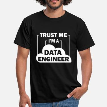 Data Preservation Data Engineer Data Science - Men's T-Shirt