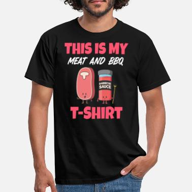 This is my Meat and BBQ T-Shirt - Männer T-Shirt