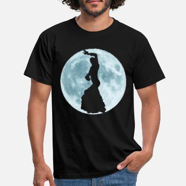 International Flamenco Full Moon - T-skjorte for menn