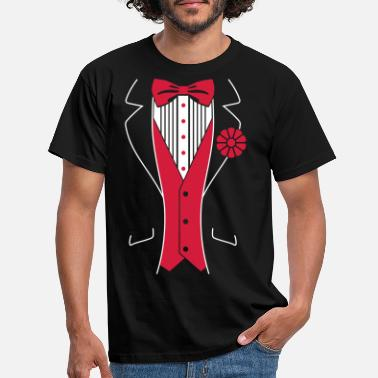 Birthday Tuxedo - Men's T-Shirt