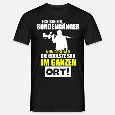 Sondlershirt Sondler Sondeln T-Shirt Schatzsucher Sondengänger Metalldetektor 6