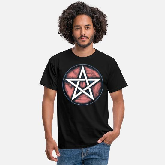 Stylish T-Shirts - Pentagram - Stylish - Men's T-Shirt black