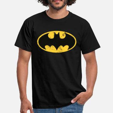 Superhelden DC Comics Batman Logo Used Look - Männer T-Shirt