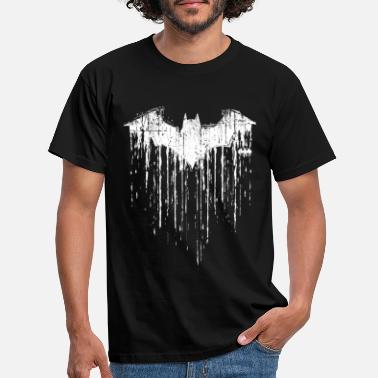 Fledermaus DC Comics Batman Fledermaus Used Look - Männer T-Shirt