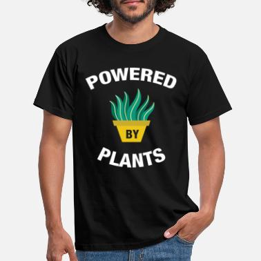 By Powered By Plants - T-skjorte for menn