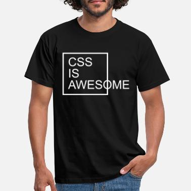 Awesome CSS Is Awesome - Maglietta uomo
