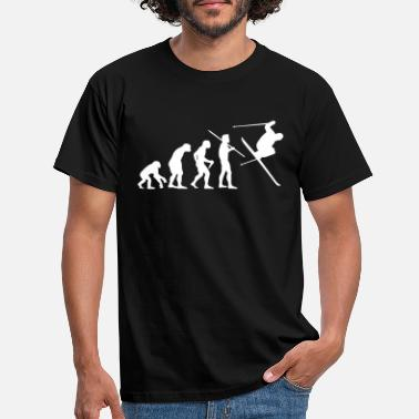 Ski Evolution of Man - Skier #1 - Men's T-Shirt