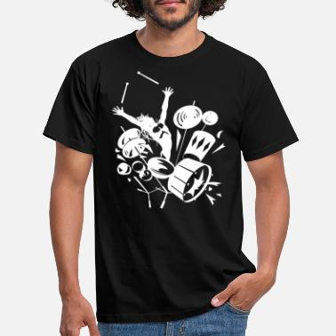Drum Drums - Men's T-Shirt