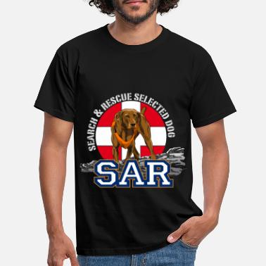 Rescue search and rescue dog 1 - Männer T-Shirt