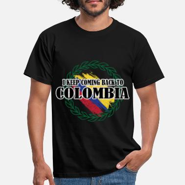Colombia Colombia - Mannen T-shirt