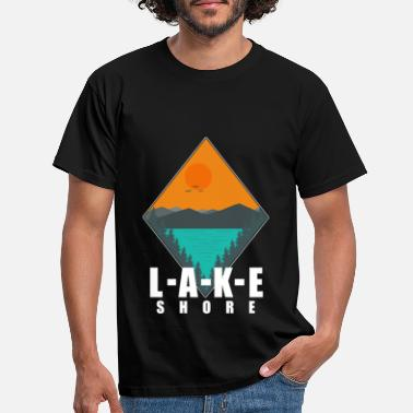 Shore Lake Shore - Men's T-Shirt