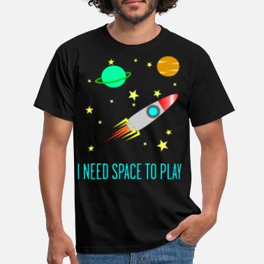 I Need Space To Play, Funny, For Kids, Gift idea, - Men's T-Shirt