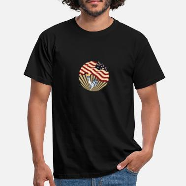Association American freedom associated with USA flag59 - Men's T-Shirt