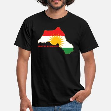 Kurdistan Born in Kurdistan - Men's T-Shirt