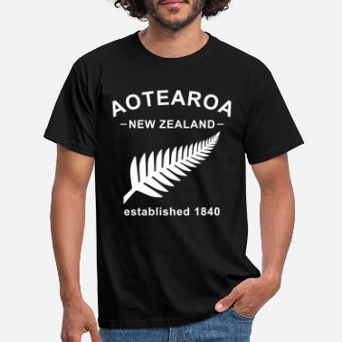 Nieuw New Zealand Design 8 - Mannen T-shirt