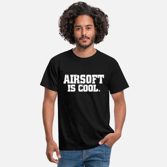 Airsoft T-shirts - Airsoft - T-shirt mænd sort