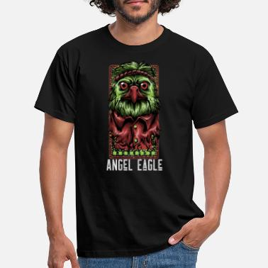Angel Eagle - Mannen T-shirt