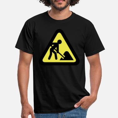 Building site - Men's T-Shirt