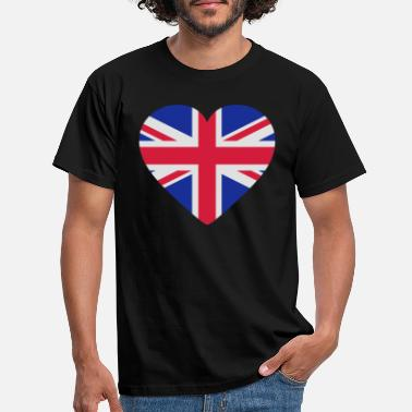 Shape Underwear Heart Britain - Men's T-Shirt
