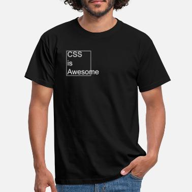 Css CSS is Awesome - Männer T-Shirt
