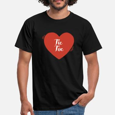 Love Heart - T-shirt Homme