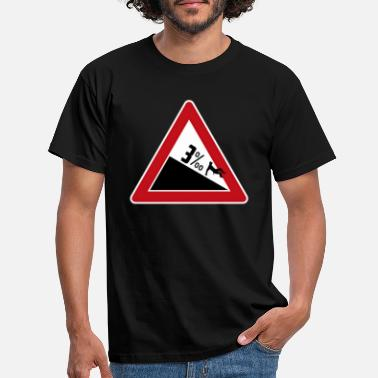 3 per mille slope - Men's T-Shirt