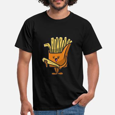 Frieren Fries Man Fries Man - Männer T-Shirt