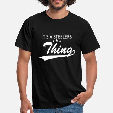 Steelers HET IS STEELERS - Mannen T-shirt