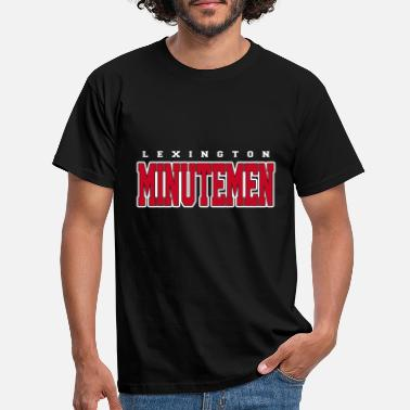 Lexington Lexington Minutemen T-shirt - Mannen T-shirt