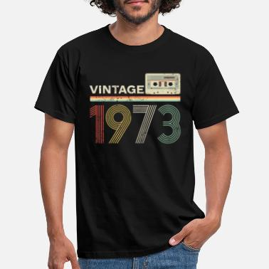 46th Birthday Present Gift Year 1973 Aged To Perfection Womens Ladyfit TShirt