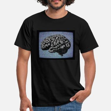 Liar Brainwashed White Noise TV - Men's T-Shirt