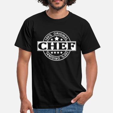 Chef chef - Mannen T-shirt