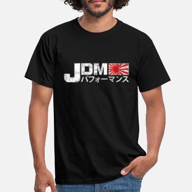 Look JDM PERFORMANCE USED LOOK - Männer T-Shirt
