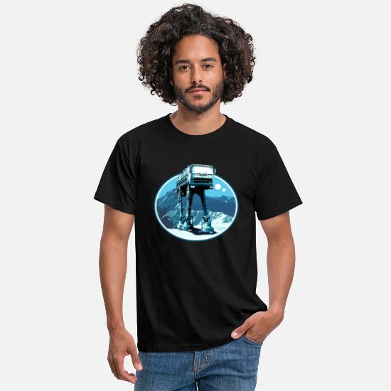 Christmas T-Shirts - Fiat 690 AT-AT peoardu idea - Men's T-Shirt black