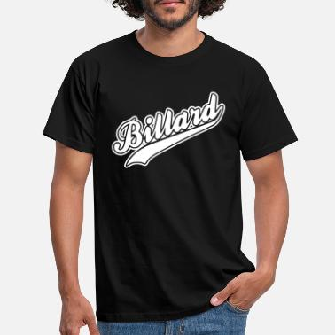 Billards billard - Men's T-Shirt