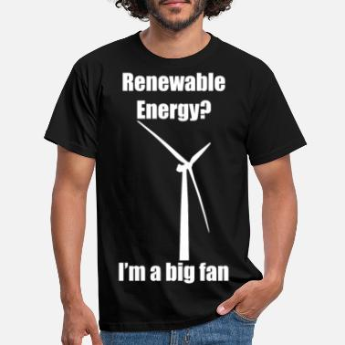 Renewable Renewable Energy (White) - Men's T-Shirt