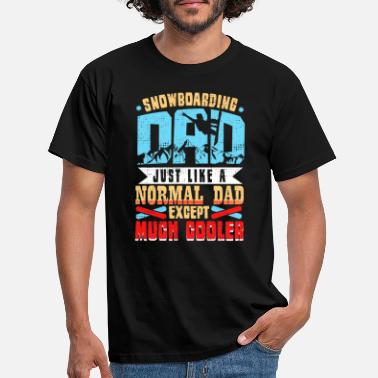 Snowboard Snowboarding Dad - Men's T-Shirt