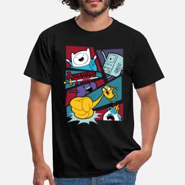 Adventure Time Comic Panel - Men's T-Shirt
