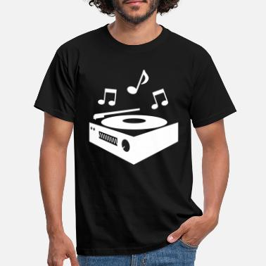 Record record player - Men's T-Shirt