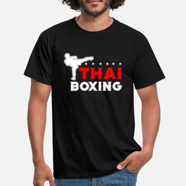 Thai Boxing Thai Boxing Muay thai - Männer T-Shirt