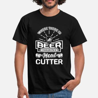 Cutter Meat Cutter Meat Cutter With Beer - T-skjorte for menn